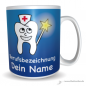 Mobile Preview: Tasse lachende Zahnfee blau