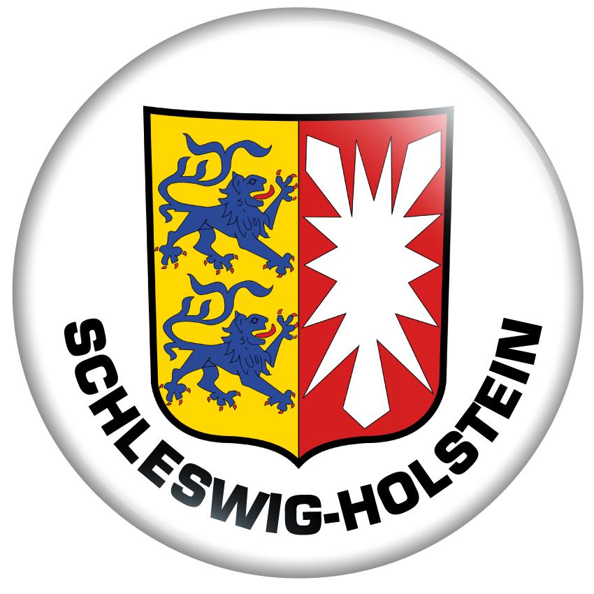 Buttonfee Schleswig Holstein Wappen