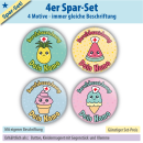 4er Spar-Set Kawaii-Sweets